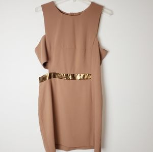 ASOS Side Cut Out Party Dress Size 12